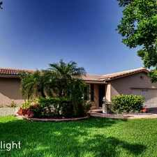 Rental info for 8466 Northwest 24th Court, Coral Springs, FL, 33065
