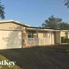 Rental info for 19740 Southwest 87th Place in the Cutler Bay area