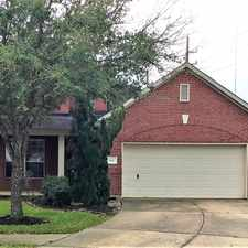 Rental info for 2012 Lazy Hollow Court in the Pearland area