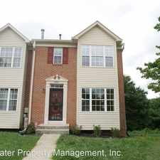Rental info for 8908 Harkate Way in the Randallstown area