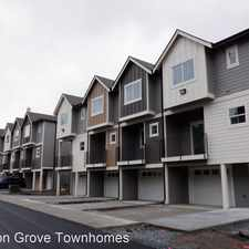 Rental info for CANYON GROVE TOWNHOMES 5221 144TH ST. E.