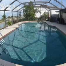 Rental info for $2000 2 bedroom Townhouse in Lee (Ft Myers) Cape Coral
