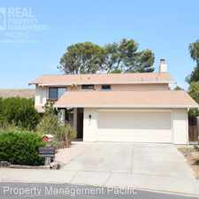Rental info for 411 Duvall Court in the Benicia area
