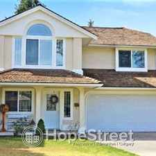 Rental info for 4473 208A Street, 4 Bedrooms