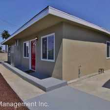 Rental info for 2152.5 Ocean View Blvd. in the Logan Heights area