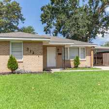 Rental info for 312 N Bengal Rd in the Kenner area
