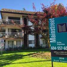 Rental info for Hillside Terrace in the Abbotsford area