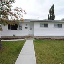 Rental info for Stunning Modern 3 bed 1 Bath Main Floor!*Utilities Included*Garage Available in the Kilkenny area
