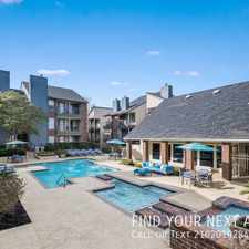 Rental info for Thousand Oaks in Front of 1583 in the Shady Oaks area