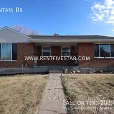 Rental info for 24 Mountain Dr in the Pocatello area