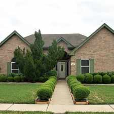 Rental info for 1601 Oak Place Court in the Pearland area