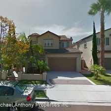 Rental info for 5417 Sonoma Place in the North City area