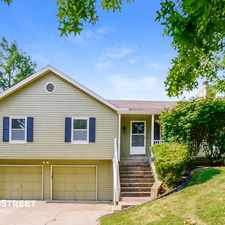Rental info for 7609 Northwest Belvedere Parkway in the Park Forest area