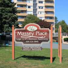 Rental info for Massey Place in the New Westminster area
