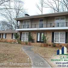 Rental info for 4525 North Peachtree Road in the Dunwoody area
