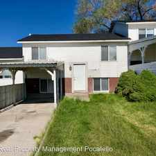Rental info for * 675 Hyde Ave. Apt. B in the Pocatello area