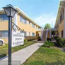 Rental info for For Rent By Owner In Fort Lauderdale in the Coral Ridge Country Club Estates area
