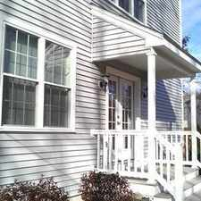 Rental info for Luxury Townhouse! Central Air, Private Back Yar... in the West Newton area