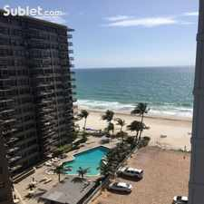 Rental info for One Bedroom In Fort Lauderdale in the Coral Ridge Country Club Estates area