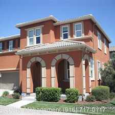 Rental info for 4 Long Warf Place in the Natomas Creek area