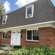 Rental info for 1 TOWNHOUSE COURT in the Dayton area