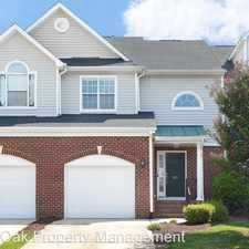 Rental info for 813 Saratoga Drive in the Durham area