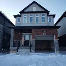 Rental info for 502 Isaiah Cres in the Kitchener area