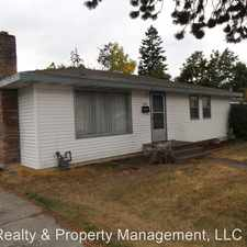 Rental info for 3521 W. Francis Ave. in the Northwest Spokane area