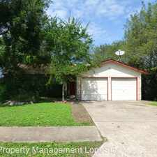 Rental info for 3906 Rolling Hill in the Brushy Creek area