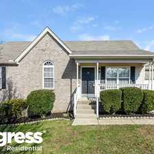 Rental info for 605 Cahaba Ct in the Mount Juliet area