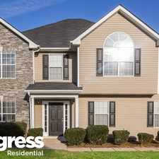 Rental info for 605 Compton Ln in the McDonough area