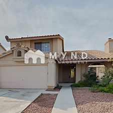 Rental info for 1413 Pathfinder Rd in the Whitney Ranch area