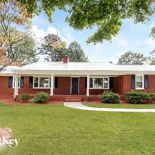 Rental info for 207 Western Blvd in the Lexington area