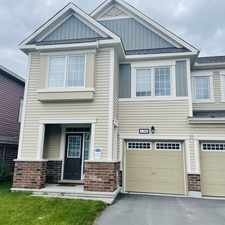 Rental info for 130 Lanceleaf Way in the Kanata South area