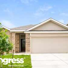 Rental info for 10303 Barbeque Bay in the Converse area