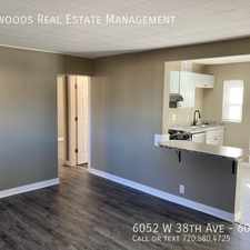 Rental info for 6054 W 38th Ave in the Wheat Ridge area