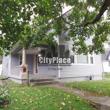 Rental info for 1541 Spruce St, Indianapolis, IN 46203 in the Fountain Square area