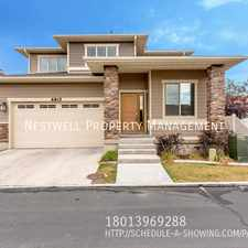Rental info for 6815 S Castle Point Ln in the Midvale area