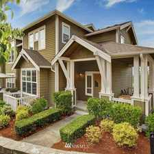 Rental info for 2018 17th Avenue Northeast in the Issaquah Highlands area