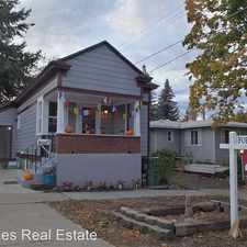 Rental info for 12 S Elm St in the Latah Valley area