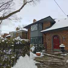 Rental info for Great Home In A Great Neighborhood In The Heart Of The City in the Yonge-Eglinton area