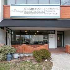 Rental info for St. Michael Apartments in the Walkerville area