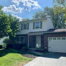 Rental info for Fantastic Home in Columbus in the Westerville area