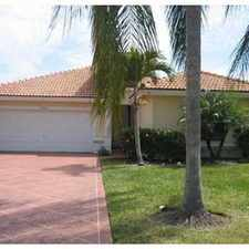 Rental info for Beautiful Coconut Creek waterfront home in the Coconut Creek area