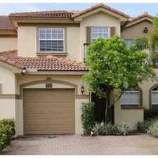 Rental info for gorgeous cooper city townhome for rent in the Cooper City area