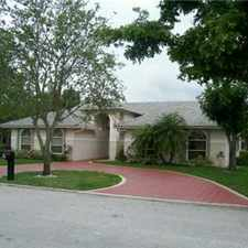 Rental info for GORGEOUS CORAL SPRINGS RENTAL in the North Springs area