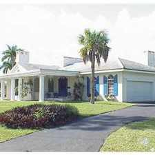 Rental info for furnished coral springs mini mansion in the Coral Springs area