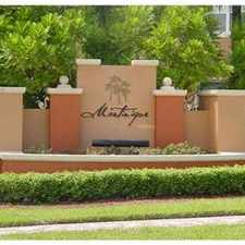 Rental info for GORGEOUS GARDEN STYLE TOWNHOME IN MIRAMAR in the Pembroke Pines area