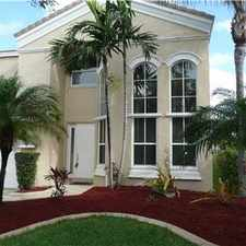 Rental info for SPECTACULAR 4/2.5 WEST MIRAMAR HOME in the Miramar area