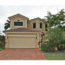 Rental info for VIZCAYA ESQUISITE TWO STORY SINGLE FAMILY HOME in the Pembroke Pines area